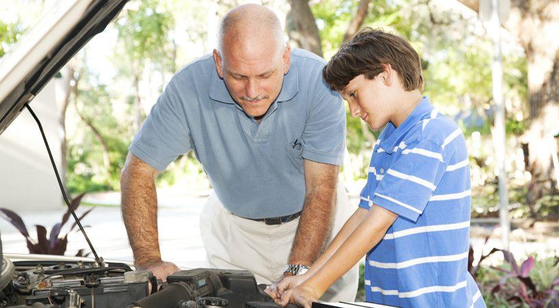 Bilinteressen går ofte i arv